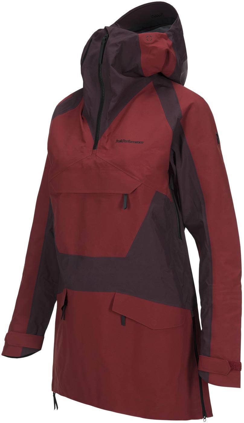 3bd6d20d9aa287 Peak Performance Women S Volcan Ski Anorak Dark Red. Full image ...