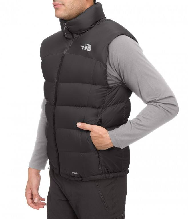 The North Face Nuptse 2 Vest Khaki. Full image ... d07aa8719