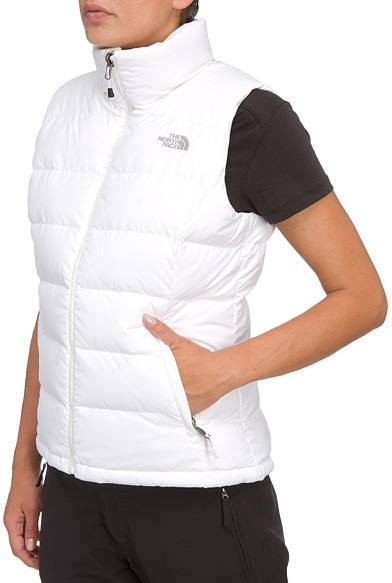 5803b13e2e32 The North Face Nuptse 2 Vest W S White. Full image ...